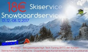 Skiserve, Snowboardservice auf mordernen Maschinen von Montana bei Südstadtsport Köln